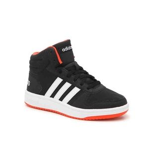 New Adidas Hoops 2.0 Mid Kids Shoes